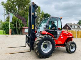 MANITOU M26-4 4WD ALL TERRIAN FORKLIFT *YEAR 2008 , ONLY 4023 HOURS C/W PUH *SEE VIDEO*