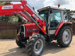 MASSEY FERGUSON 3065 TRACTOR C/W INTER-TECHIT1600 LOADER