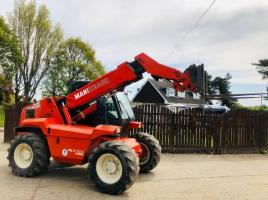 MANITOU MANIREACH MLT524 TURBO TELEHANDLER *4724 HOURS 1 OWNER FROM NEW* SEE VIDEO
