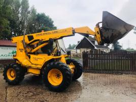 JCB 525B FARM SPCIAL PLUS TELEHANDLER C/W PICK UP HITCH