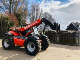 MANITOU MLT634-120PS PREMIUM TURBO TELEHANDLER * YEAR 2009 * PLEASE SEE VIDEO *