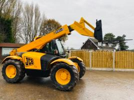JCB 530-70 TURBO TELEHANDLER * AG-SPEC * C/W PICK UP HITCH