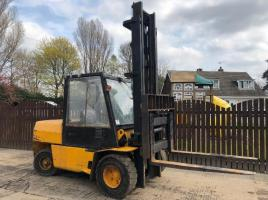 HYSTER H5.00XL FORK LIFT CW SIDE SHIFT
