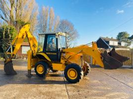 JCB 2DX 4WD BACKHOE DIGGER C/W QUICK HITCH & 2 X BUCKETS