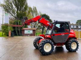 MANITOU MLT527T TURBO TELEHANDLER * ONLY 3925 HOURS * C/W PICK UP HITCH