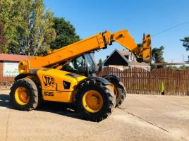 JCB 535-95 TELEHANDLER * AG-SPEC * C/W PICK UP HITCH & JOYSTICK CONTROL