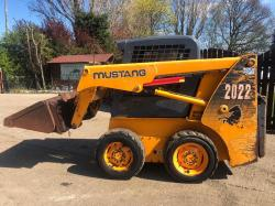 MUSTANG 2022 SKIDSTEER ( PLEASE SEE VIDEO )