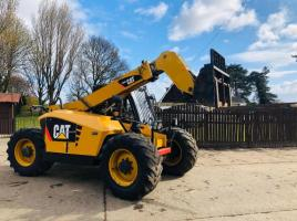 CAT TH406AG TURBO TELEHANDLER * ROAD REGISTERED 2012 * C/W PICK UP HITCH *SEE VIDEO*