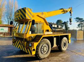 JONES J1F 10 MOBILE CRANE C/W 2 WHEEL & 4 WHEEL REAR