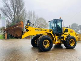 NEW HOLLAND W190C LONCH REACH LOADING SHOVEL * YEAR 2013 *ADBLUE FAULT*