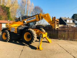 JCB 533-105 TURBO TELEHANDLER * YEAR 2015 * C/W PICK UP HITCH *PLEASE SEE VIDEO*