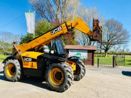 JCB 535-95 TELEHANDLER * YEAR 2013 * ONLY 7753 HOURS C/W 9.5 METER REACH