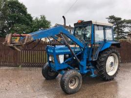 FORD 5610 TRACTOR CW LOADER