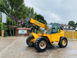 MATBRO TS260 TURBO TELEHANDLER C/W PIN AND CONE HEAD STOCK * SEE VIDEO *