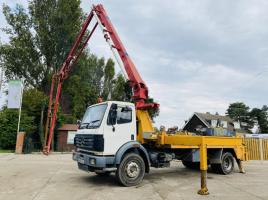 MERCEDES 1820 4X2 PUTZMEISTER CONCRETE LORRY * SEE VIDEO *