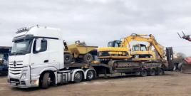 MACHINES LOADED GOING TO CUSTOMERS 2019