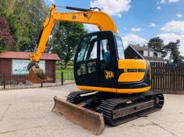 JCB JZ70ZTS TRACKED EXCAVATOR C/W QUICK HITCH