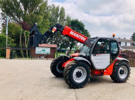MANITOU MT732 TURBO TELEHANDLER YEAR 2012 C/W JOYSTICK CONTROLS