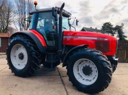 MASSEY FERGUSON 8240 POWER CONTROL 4WD TRACTOR *READING 7360 HOURS*
