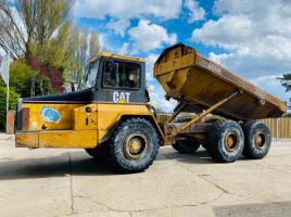 CATERPILLAR D250E 6X6 ARTICULATED DUMP TRUCK C/W REVERSE CAMERA