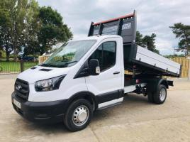 FORD TRANSIT TIPPER PICK UP * YEAR 2020 * ONLY 185 DELIVERY MILES *
