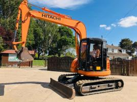 HITACHI EX75UR TRACKED EXCAVATOR C/W RUBBER TRACKS