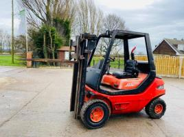 LINDE H25D DIESEL FORKLIFT * CONTAINER SPECIFICATION *