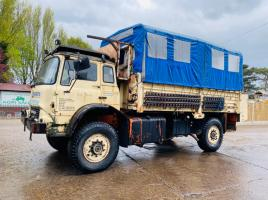 BENFORD 4WD FLAT BED LORRY C/W 330 TURBO DIESEL ENGINE