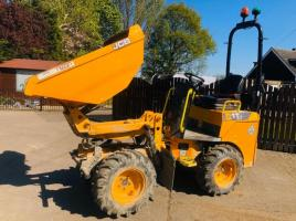 JCB 1T-1 HIGH TIP DUMPER * YEAR 2018 C/W KUBOTA ENGINE  *