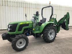 ** BRAND NEW SIROMER 404 4WD TRACTOR WITH REAR BACK ACTOR YEAR 2019 **