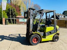 CLARK C25D CONTAINER SPEC DIESEL FORKLIFT * YEAR 2012 * C/W SIDE SHIFT