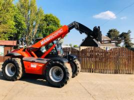 MANITOU MANI-SCOPIC MLT627 TURBO TELEHANDLER C/W PICK UP HITCH *PLEASE SEE VIDEO*
