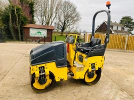 BOMAG BW80 DUBLE DRUM ROLLER * YEAR 2012, ONLY 853 HOURS  * C/W KUBOTA ENGINE