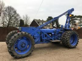 FORD 5000 WINCH TRACTOR 1 OF 2