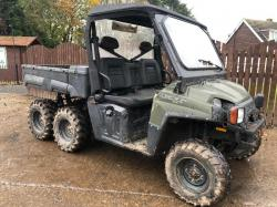 POLARIS RANGER 6X6 UTILITY VEHICLE ( ROAD REGISTERED 59 PLATE )