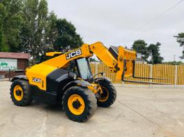 JCB 527-58 * AG-SPEC * TELEHANDLER * YEAR 2015 * C/W PICK UP HITCH