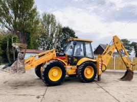 JCB 4CX PROJECT 8 TURBO 4WS BACK HOE DIGGER C/W ** MANUAL GEAR BOX **