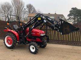 ** BRAND NEW SIROMER 304 FIELD RANGE 4WD TRACTOR CW LOADER YEAR 2019 **