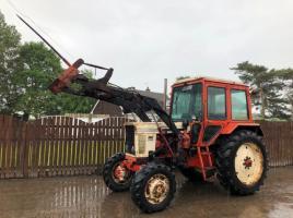 BELARUS 1062 TURBO 4WD TRACTOR CW WITH LOADER