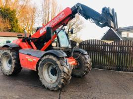 MANITOU MLT627T TELEHANDLER * YEAR 2009, ONLY 4072 HOURS *