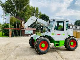 CLASS 516 TELEHANDLER C/W JOYSTICK CONTROL & PICK UP HITCH * SEE VIDEO *