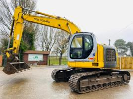 NEW HOLLAND KOBELCO E200MSN TRACKED EXCAVATOR C/W QUICK HITCH