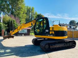 JCB JZ140 TRACKED EXCAVATOR * YEAR 2011 * C/W HYDRAULIC QUICK HITCH