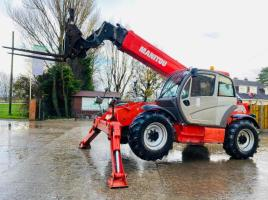 MANITOU MT1436R TURBO TELEHANDLER *YEAR 2010* C/W FORK POSITIONER
